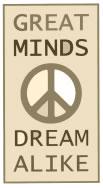 Great Minds Dream Alike ~ from Roy Anthony Shabla