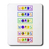 purchase peace words mouse pad